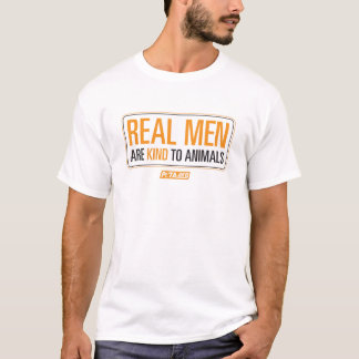 Real Men are Kind to Animals Shirt