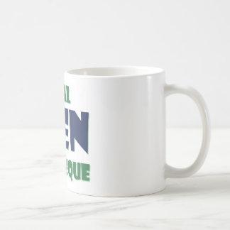 Real Men Barbeque Coffee Mug