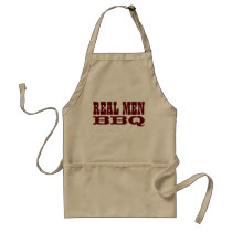Real Men BBQ | Funny barbecue aprons for men