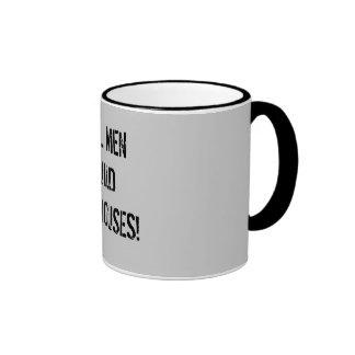 Real men build dollhouses coffee mug