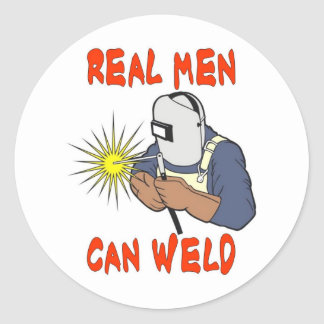 REAL MEN CAN WELD STICKERS