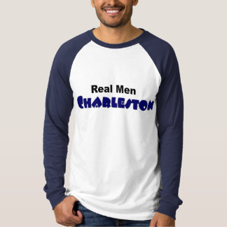 """Real Men Charleston"" long-sleeved raglan T-Shirt"