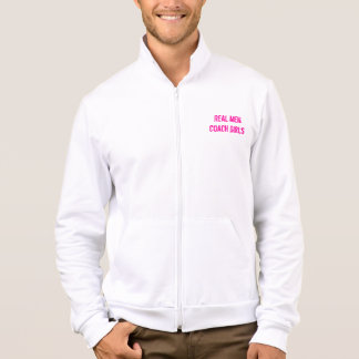 Real Men Coach Girls Jacket
