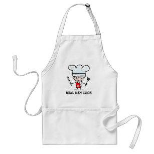 Real men cook apron
