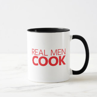 Real Men Cook Mug