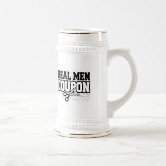 Real Men Coupon Coffee Mugs