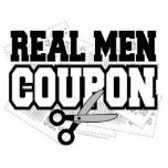 Real Men Coupon Cut Outs