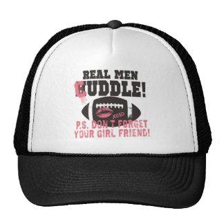 Real Men Cuddle Trucker Hat