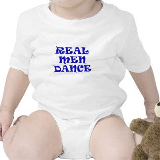 Real Men Dance Baby Bodysuit