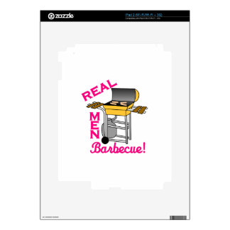 Real Men Decal For iPad 2
