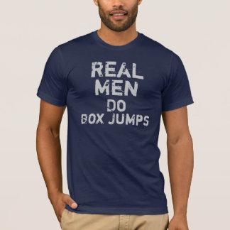 Real Men Do Box Jumps T-Shirt