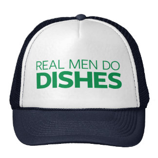 Real Men Do Dishes Trucker Hat