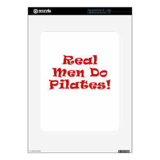 Real Men Do Pilates Decals For The iPad