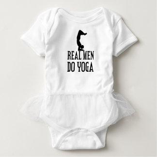 Real Men Do Yoga Baby Bodysuit