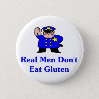 Real Men Don't Eat Gluten Button