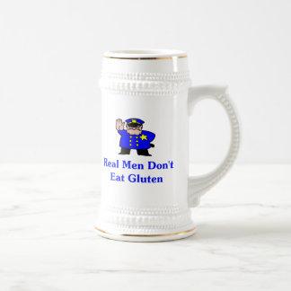 Real Men Don't Eat Gluten 18 Oz Beer Stein