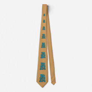 Real men drive stick shifts neck tie