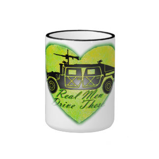 Real Men Drive These! Ringer Mug