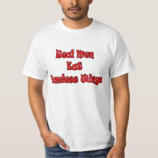 Real Men Eat Bonless Wings T-shirt Shirt Clothing