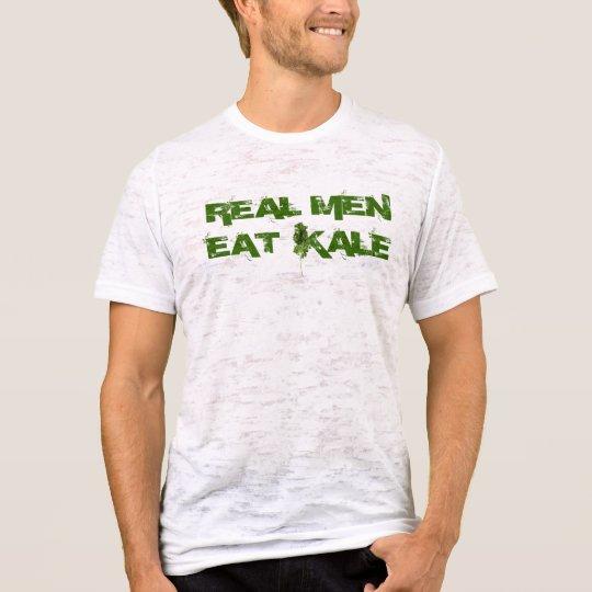 acdc16f6465b82 REAL MEN EAT KALE T-Shirt | Zazzle.com
