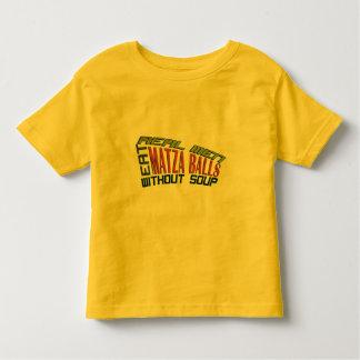 Real Men Eat Matza Balls - Jewish Humor Toddler T-shirt