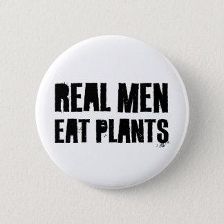 Real Men Eat Plants Button