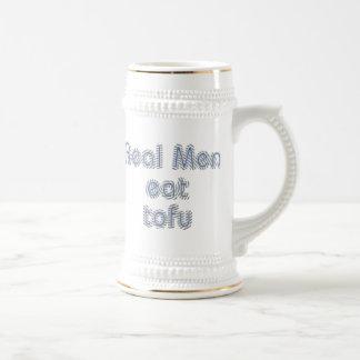 Real Men Eat Tofu Beer Stein