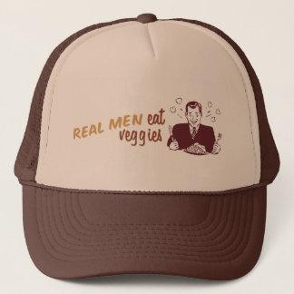 Real Men Eat Veggies Trucker Hat