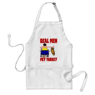Real Men Fry Turkey Adult Apron