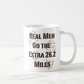 Real Men Go The Extra 26.2 Miles Mug