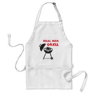 Real Men Grill Adult Apron