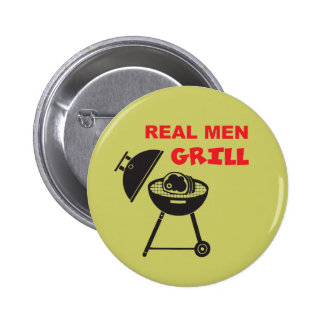 Real Men Grill Button