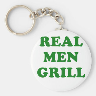 Real Men Grill Key Chains