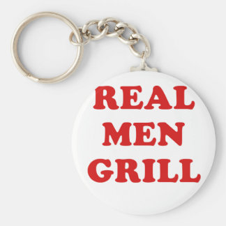 Real Men Grill Key Chain