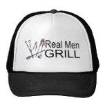 Real Men Grill Trucker Hats