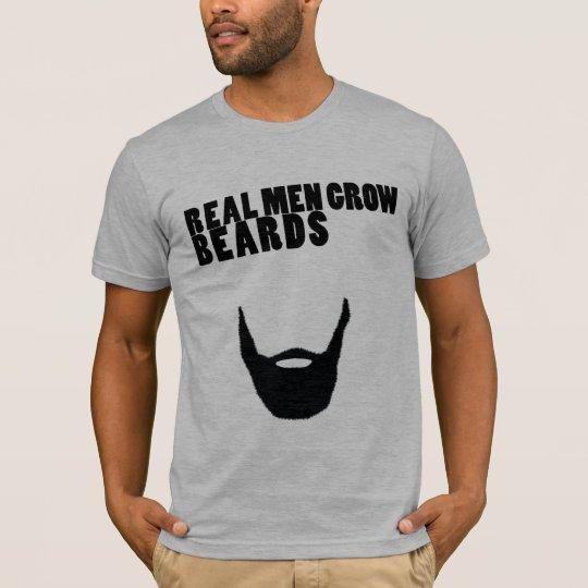Real Men Grow Beards Tee