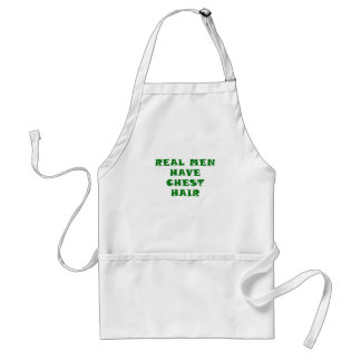 Real Men Have Chest Hair Apron
