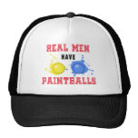 Real Men Have Paintballs Mesh Hats