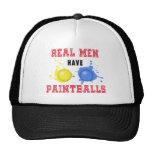 Real Men Have Paintballs Trucker Hat