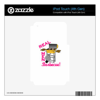 Real Men iPod Touch 4G Skins
