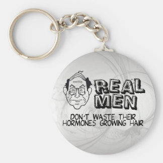 Real Men Keychain