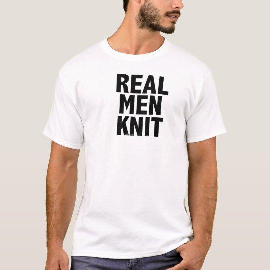 REAL MEN KNIT Men's T-shirt