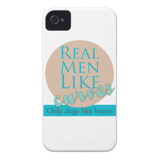 Real Men Like Curves Case-Mate iPhone 4 Cases