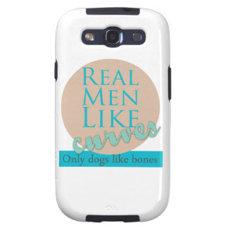 Real Men Like Curves Galaxy S3 Covers