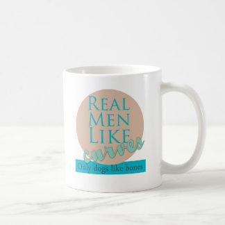 Real Men Like Curves Coffee Mug
