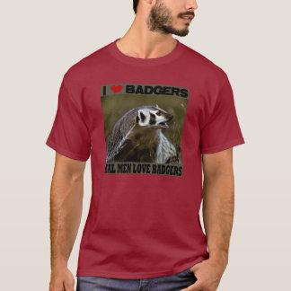 Real Men Love Badgers T-Shirt