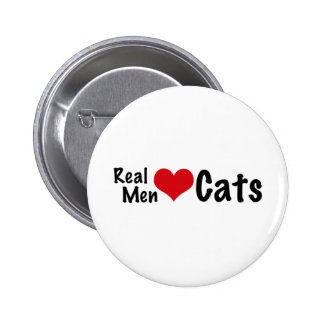 Real Men Love Cats #2 Button