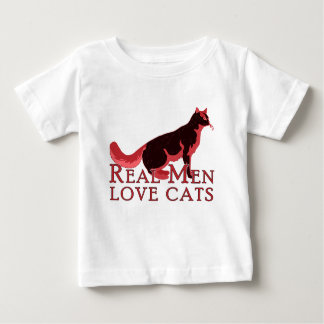 Real Men Love Cats 2 Infant T-shirt