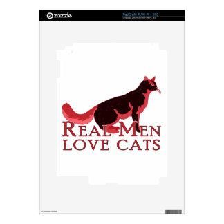 Real Men Love Cats 2 iPad 2 Skins