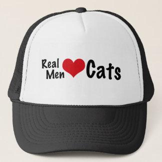 Real Men Love Cats #2 Trucker Hat